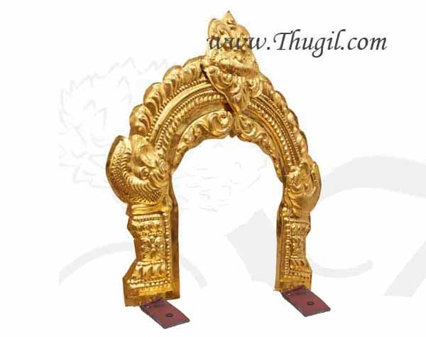 Prabhavali Brass Thiruvachi Temple Arch deity Idols Buy Online 2.5 Feet