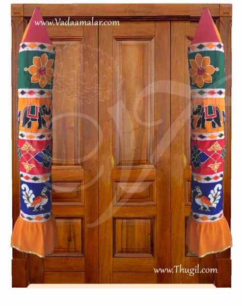 Thombai India Stage Temple Car decorations Buy now - 6 feet - First Quality