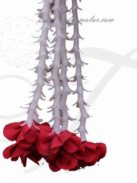 Yellow Rose Design Decoration for Arangetram Weddings Venue Toran Order Online
