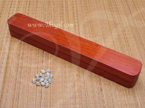 Buy Pallanguzhi Rose Wooden Pallanguli Set Indian Board Game Online Now