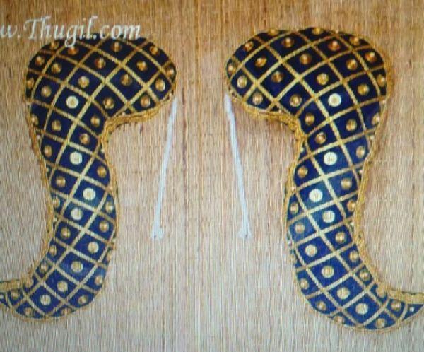 Vagamalai Deity Shoulder Decorations for Pooja Amman Alangaram Buy Online 18 inches