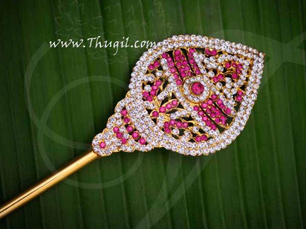 Vel for Murugar Metal Symbol Jewelry Ornament Lord Shanmuga Vel Buy Now 13