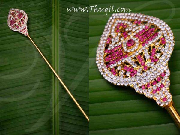 Vel for Murugar Metal Symbol Jewelry Ornament Lord Shanmuga Vel Buy Now 12