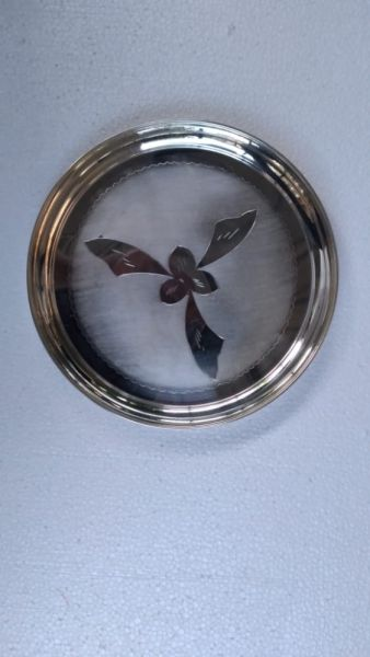 German Silver Plate Plate Thambolam Thali Buy Now 10 inches